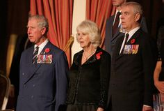 326-Prince Charles-The Prince of Wales, Camilla-Duchess of Cornwall and Prince Andrew-The Duke of York