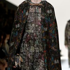 Dark floral prints - Easy ways to wear Autumn fashion trends - Style Advice | Good Housekeeping