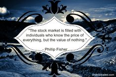 Philip Fisher on Investing #quote