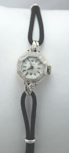 Petite Tissot Antique Gold with Diamonds Watch