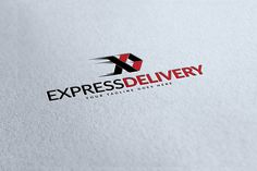 Express Delivery Logo by WonderShop on Creative Market