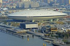 The Mercedes-Benz Arena in Shanghai opened in 2010. The bowl-shaped structure was conceived by Manica Architecture.