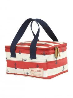 Brakeburn Anchor Lunch Cooler Box Red