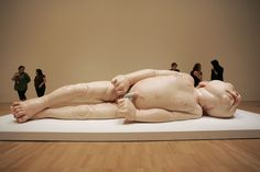 Hyper Realistic Sculptures - by Ron Mueck