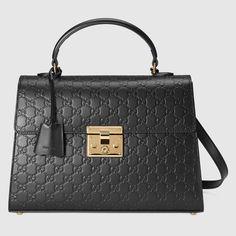 Gucci Women - Padlock Gucci Signature top handle - 428208CWC1G1000