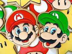 .Oh Sugar Events: Mario Bros. Cookies