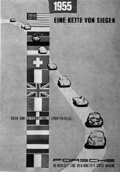 Porsche-Siege 1955