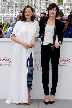 Marion Cotillard y Charlotte Gainsbourg