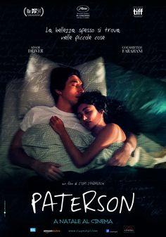 Paterson, scheda del film di Jim Jarmusch con Adam Driver e Golshifteh Farahani, leggi la trama e la recensione, guarda il trailer, trova il cinema.