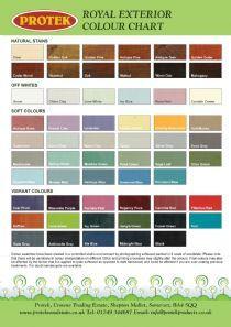 Protek Extra Thick Royal Exterior Wood Finish Natural Shades Sadolin Paints Colour