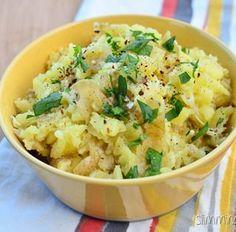 Rustic Garlic and Parmesan Mashed Potatoes