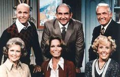 The cast of The Mary Tyler Moore Show, set in the Twin Cities, Minnesota, ran from 1970-1977.
