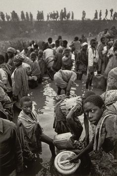 "Sebastiao Salgado, photographer of ""Migrations"""