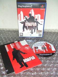 MAFIA con Mappa - PS2 ps3 playstation - ITALIANO - Ottimo