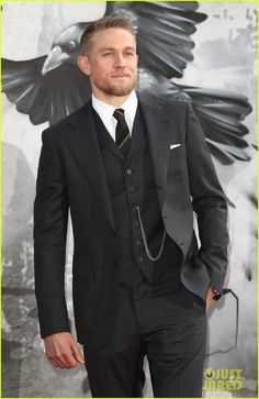 Charlie Hunnam Had to Convince Guy Ritichie to Cast Him in 'King Arthur: Legend of the Sword'