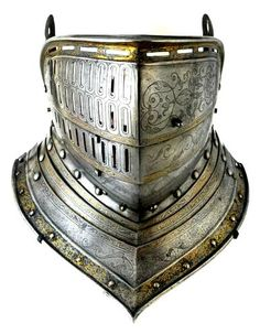Gorjal-celada que fue de Enrique VIII de Inglaterra - Italia - 1515