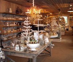 Primrose Antiques & Fancy Goods is ready for our 2014 Holiday Open House at Christianson's Nursery & Greenhouse!