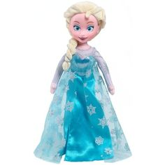 Disney Frozen Elsa Plush, Medium ** Want additional info? Click on the image. (This is an affiliate link) #StuffedAnimalsPlushToys