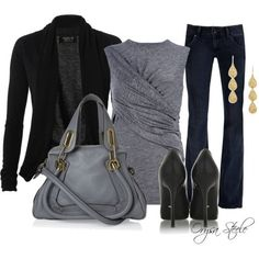 casual-fall-work outfit