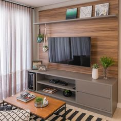 Amazing Modern TV Wall Decor Idea for Living Room Design Look Luxury - Istri Sholehah Home Living Room, Interior Design Living Room, Living Room Decor, Tv Wanddekor, Living Room Tv Unit Designs, Tv Wall Decor, Home Decor Furniture, Furniture Online, Wooden Furniture
