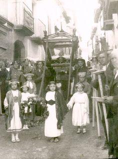 El Sepulcro, años 40 del siglo pasado. Fotografía publicada por Antonio Royo