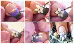 Step by step Nail art