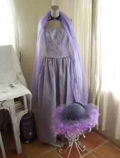 Handmade Lavender Elegant Cinderella by AnotherThymeVintage, $89.99