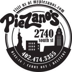 Piezano's!  27th and South St. Lincoln, NE- Great Pizza!!