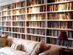 Illuminate your shelves to spotlight your arrangements.