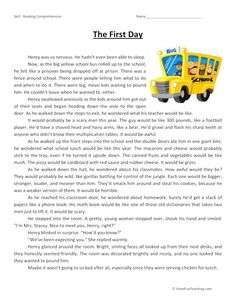 Reading Comprehension Worksheets, Reading Strategies, Reading Skills, Comprehension Strategies, Have Fun Teaching, Teaching Reading, Maths Algebra Formulas, Mental Maths Worksheets, English Stories For Kids