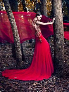 Fairytale fashion fantasy/karen cox....Will Dy – Angel Luzano • Dark Beauty Magazine
