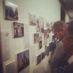 Some of your images used for an exhibition competition for architecture in London. Brilliant evening. Open spaces in the middle east was the hot topic - @demotix- #webstagram