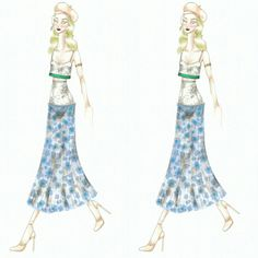 Wonderland (30) Fashion sketch