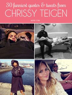 Chrissy Teigen is our queen for many reasons—from her #goals marriage to John Legend to her hilarious Tweets. We dug deep to find the best of her feeds.
