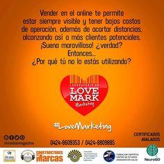 Te ofrecemos un laboratorio en el que las marcas a analizar y estrategias serán las de los participantes. Certificados avalados por: UGMA y Fundación CEAS. Info: 0434-8609353 / 0424-8809885  #LaboratoriodeMarketing #LoveMark #LoveMarketing #Marketing #ConstruyendoMiLoveMark #MiradasMagazine #MiradasRadio