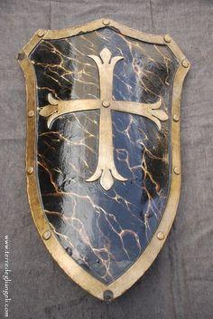 heraldic heater shield