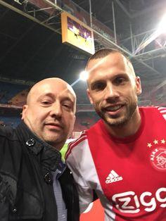 Selfie met INTERNATIONAL Johnny Heitinga