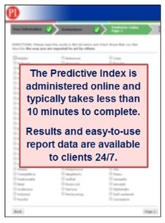 The Predictive Index Behavioral Assessment uses a normative sample ...
