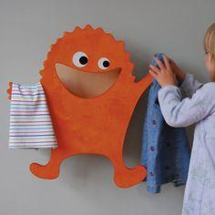 HUGO KLAMOTTE Stummer Kinderdiener - orange