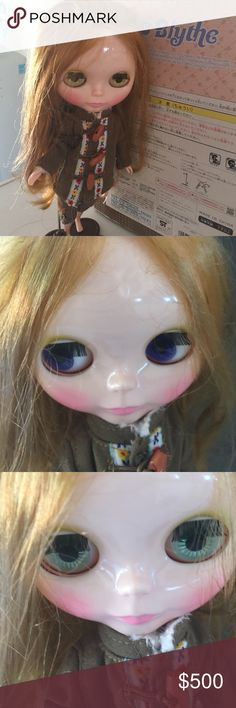 Takara Tomy Blythe Doll Hello Harvest Blythe Doll. She changes eye colors. These are collectible dolls and look anime. Takara Tomy Other
