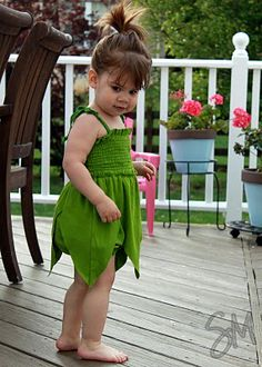 Think I could size it up for me? Fairy romper. Another pinner said: Made it! Totally cute, and such an easy outfit. Tips I would remember for next time - make the one seam you do end up on the side, NOT straight down the back. For some reason it was really hard to get it all to line up (and it still doesn't. The skirt and shirring would hide the seem, though, so I'd just stick with it going up the side. It wouldn't be so noticeable there.
