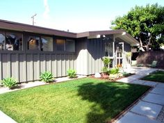 Board and batten siding, Mid-century influence