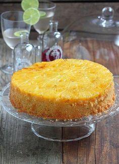 Ou autrement dit : Gâteau renversé à l'ananas frais , un détail qui à toute son importance et change complètement la donne pour un résult...