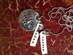 Personalized Necklace Hand Stamped Jewelry   My by TBSoulSisters, $56.00