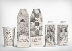 Love these! way more interesting than any milk packaging around here