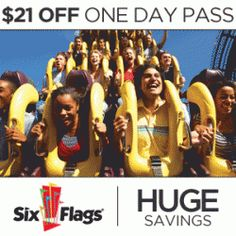 day pass six flags