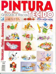 Pintura em tecido nº 16 - Rosana Carvalho - Picasa Web Albums...FREE MAGAZINE!!