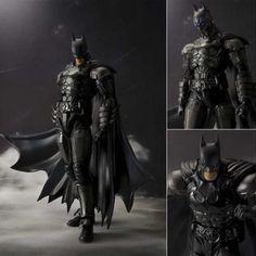 2016 New Original Box Bandai Batman Action Figure Movie Cartoon Bat-Man SHF 16cm PVC Model Anime Model Toys Juguetes kids toys
