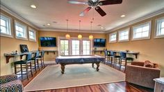 Looking for ideas for a man cave or home theater room? Here are 5 mancaves where your guy wishes he could be on Super Bowl Sunday.