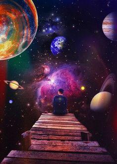 Needing Space Poster by seamless Space Artwork, Space Painting, Galaxy Painting, Cool Artwork, Space Space, Planets Wallpaper, Wallpaper Space, Galaxy Wallpaper, Wallpaper Desktop